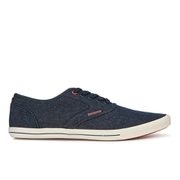 Jack & Jones Men's Spider Canvas Pumps - Light Blue Denim