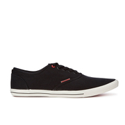 Jack & Jones Men's Spider Canvas Pumps - Anthracite