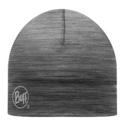Buff Single Layer Merino Wool Hat - Grey