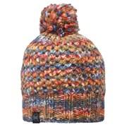 Buff Knitted Margo Hat - Orange