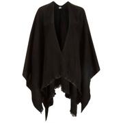 Vero Moda Women's Solid Poncho - Black