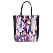 French Connection Women's Printed Tote Bag - Record Ripple/Black
