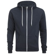 Soul Star Men's Berkley Zip Through Hoody - Navy