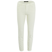 J Brand Womens 8312 Mid Rise Rail Photoready Cropped Jeans - Tropez