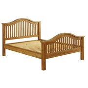 Vancouver Oak VXB005 Bed Frame - Double (High End)