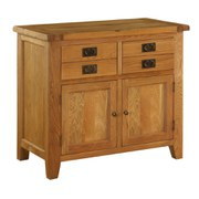 Vancouver Oak VXD015 Four Drawer Cabinet