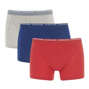 Bjorn Borg Men's 3 Pack Boxer Shorts - Estate Blue