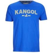 Kangol Men's Lance Print T-Shirt - Ocean Blue