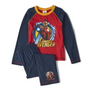 Marvel Avengers Boy's Long Sleeve Pyjamas - Navy