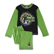 The Hulk Boy's Smash Long Sleeve Pyjamas - Green