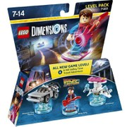 LEGO Dimensions, Back to the Future, Level Pack