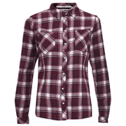 ONLY Women's Dixie Fitted Shirt - Windsor Wine