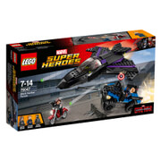 LEGO Marvel Super Heroes: Captain America Civil War Black Panther Pursuit (76047)