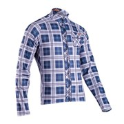 Sugoi Lumberjack Long Sleeve Cycling Jersey - Grey