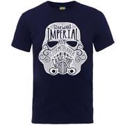Star Wars Men's Command Stormtrooper Empire T-Shirt - Navy