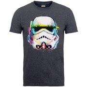Star Wars Men's Command Stormtrooper Art T-Shirt - Tweed