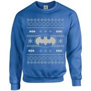 DC Originals Christmas Batman Kids Sweatshirt - Royal