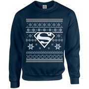 DC Originals Christmas Superman Sweatshirt - Navy