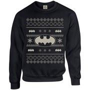 DC Originals Christmas Batman Kids Sweatshirt - Black