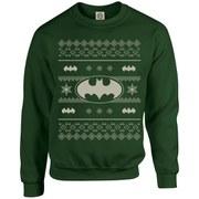 DC Originals Christmas Batman Kids Sweatshirt - Forest Green
