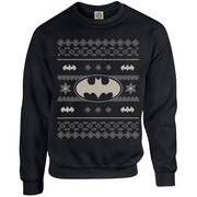 DC Originals Christmas Batman Sweatshirt - Black