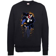 Marvel Ultimate Spider-Man Halloween Venom Sweatshirt - Black