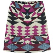 "MINKPINK Women's ""Mirror Mirror"" Placement Print Mini Skirt - Multi"
