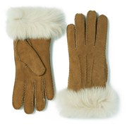 UGG Australia Women's Classic Collection Toscana Long Cuff Gloves - Chestnut