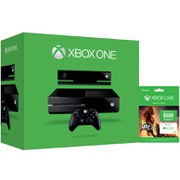 Xbox One Console with Kinect - Includes Xbox Live 12 Month Gold Starter Pack