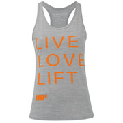 Myprotein Women's Performance Slogan Vest - Grey (USA)