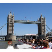 Champagne Afternoon Tea Cruise on the Thames for Two
