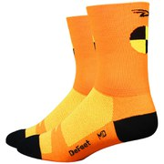 DeFeet Aireator Crash Test Dummy Socks - Orange