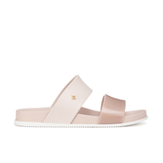 Melissa Women's Cosmic 15 Double Strap Slide Sandals - Nude