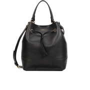 Furla Women's Stacey Drawstring Bucket Bag - Black