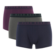 BOSS Hugo Boss Men's 3 Pack Boxer Shorts - Multi