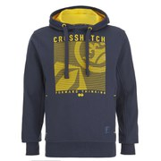 Crosshatch Men's Lambent Graphic Hoody - Iris Navy