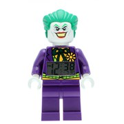 LEGO DC Universe: Super Heroes Joker Fig Clock