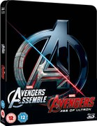 Avengers Double Pack 3D (Includes 2D) – Zavvi Exclusive Limited Edition Steelbook