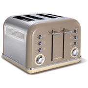 Morphy Richards 242008 New Accents 4 Slice Toaster - Barley