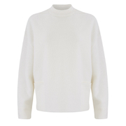 Samsoe & Samsoe Women's Banville O-Neck Jumper - Clear Cream