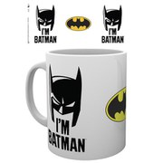 DC Comics Batman Comic I'm Batman Cowl - Mug
