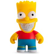 Simpsons Vinyl Figur Homer Grin by Ron English