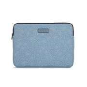 Marc by Marc Jacobs Women's Scrambled Logo 13 Inch Computer Case - Ice Blue