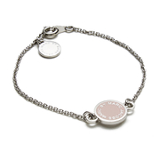 Marc by Marc Jacobs Women's Enamel Disc Bracelet - Blush