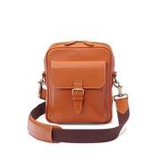 Aspinal of London Men's Harrison Small Messenger Bag - Tan