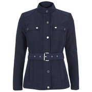 MICHAEL MICHAEL KORS Women's Belted Puffer Coat - New Navy