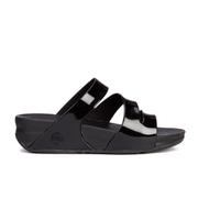 FitFlop Women's Superjelly Twist Sandals - Black