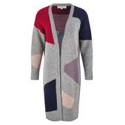 Selected Femme Women's Minda Knitted Cardigan - Pompeian Red