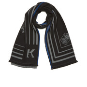 Karl Lagerfeld Women's Travel Blanket Scarf - Black