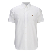 Polo Ralph Lauren Men's Plain Dress Shirt - White